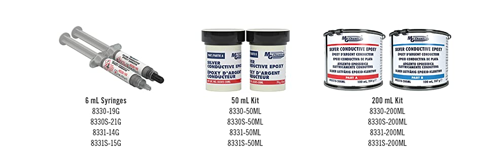 Extreme Conductivity 10 min working... MG Chemicals 8330 Silver Epoxy Adhesive