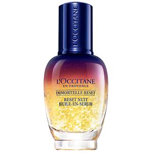loccitane immortelle overnight reset oil in serum