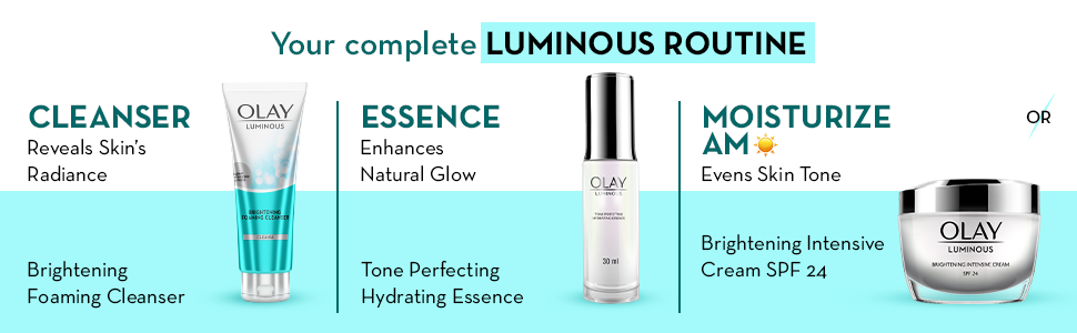Day creams essence cleanser