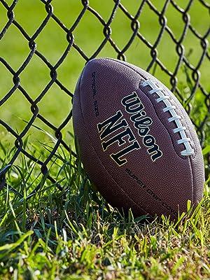 wilson; nfl football; wilson nfl football; nfl super grip; officail football; junior football
