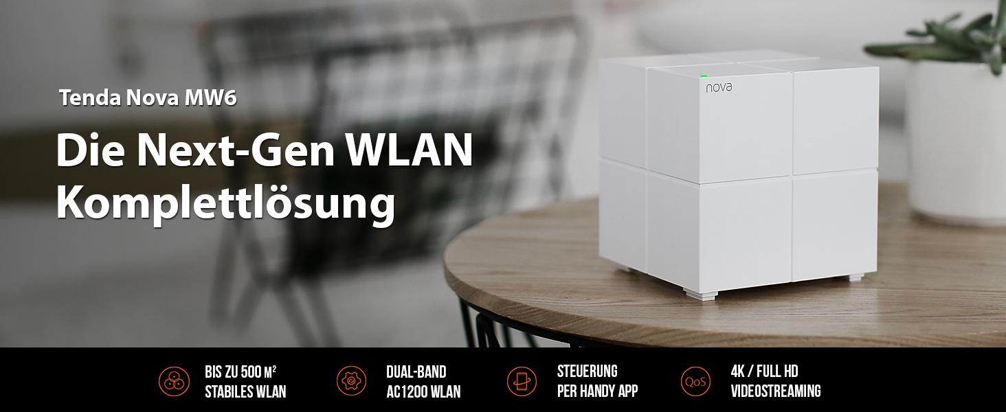 Tenda Nova Mw6 3x Echtes Dual Band Mesh Wlan Computer Zubehör