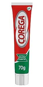 Corega - Crema Fijadora para prótesis dentales, extra fuerte ...