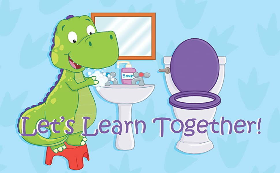 children's potty book let's learn together