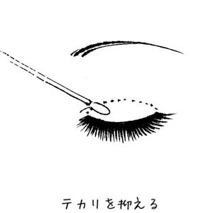 ローヤルプチアイム 使用方法 皮膜のテカリを抑えます