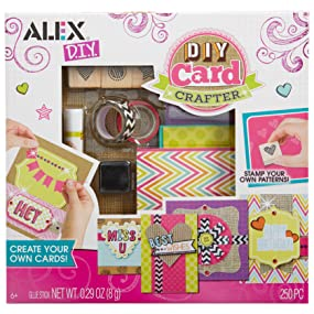 Amazon Com Alex Toys Craft Diy Card Crafter Toys Games