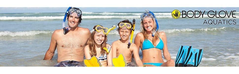 passage mask, snorkel, blue, snorkeling