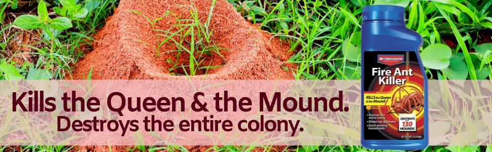 Amazon Com Bioadvanced 502832 Fire Ant Killer Dust 16 Ounce Garden Outdoor