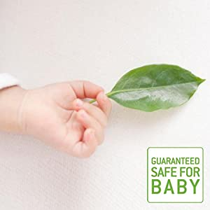 guaranteed safety, baby safe, paraben free, hypoallergenic, cosmetic safety, safe for baby