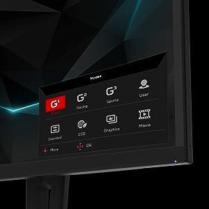 Acer Predator XN253Q Full HD NVIDIA G-SYNC 240Hz 0.4ms