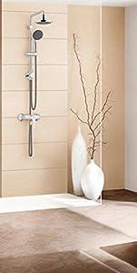 grohe sistema doccia con deviatore vitalio start cromo. Black Bedroom Furniture Sets. Home Design Ideas