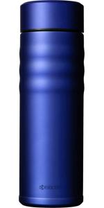 京セラ 水筒 500ml コーヒー マグボトル セラミック 塗装加工 ロイヤルブルー スクリュータイプ セラブリッド Kyocera CSB-S500-BRBU