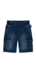 Pantalones vaqueros pequeños para niños pequeños, cintura azul, verano, primavera, bolsillos, cómodos para cumpleaños, cortos.