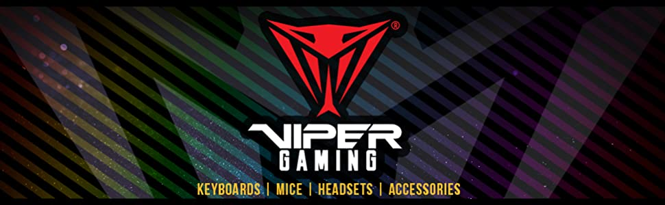 Patriot Viper Gaming keyboards mice headsets accessories rgb customizable full mechanical