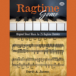 The Complete Piano Player Ragtime Sheet Music Book 12 Popular Rags
