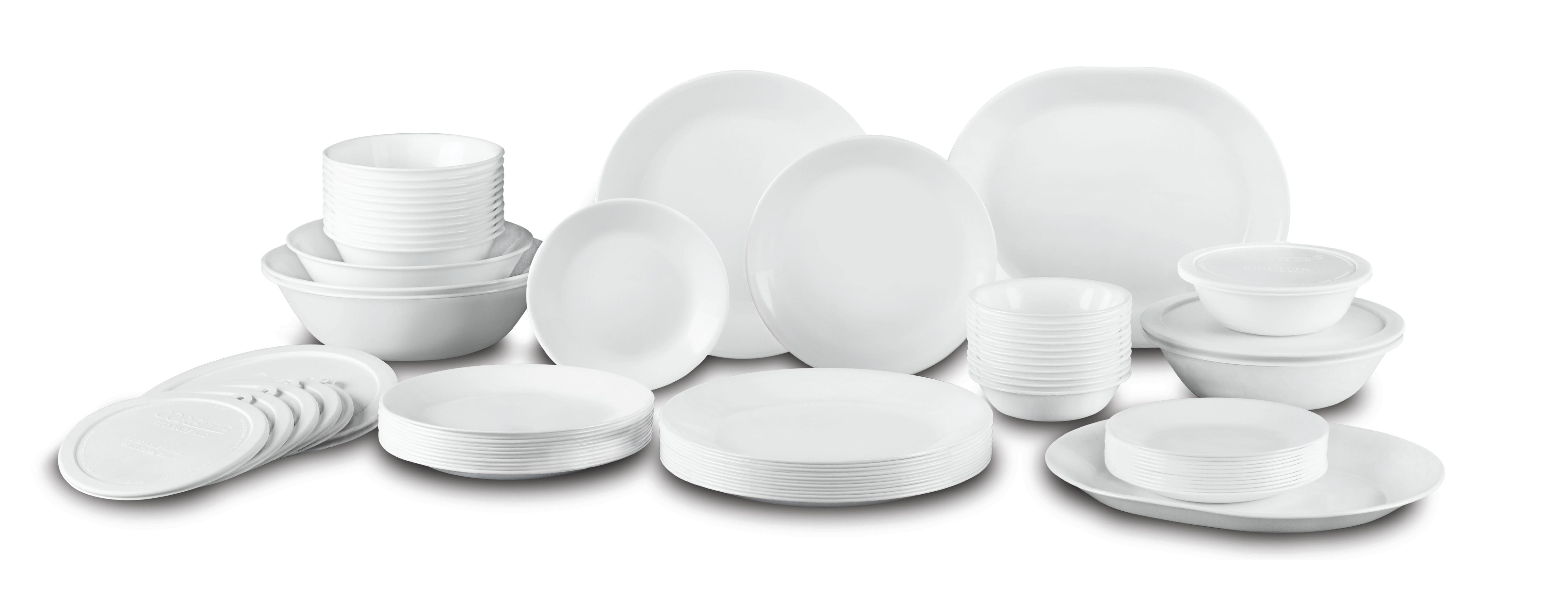 Buy Corelle Livingware 74 Piece Dinnerware Set With