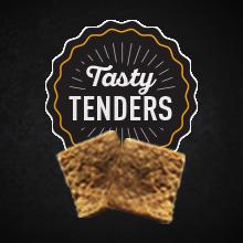 Tasty tenders dog treats