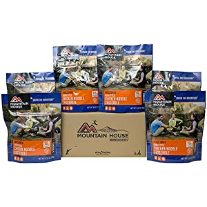 Mountain House homestyle chicken noodle casserole 6 pack product image