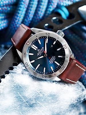 Alpiner watch, sport watch, smart watch, swiss watch, outdoor, climbing, adventure sports