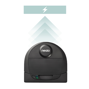 Neato D4 quickboost long battery life whole house cleaning