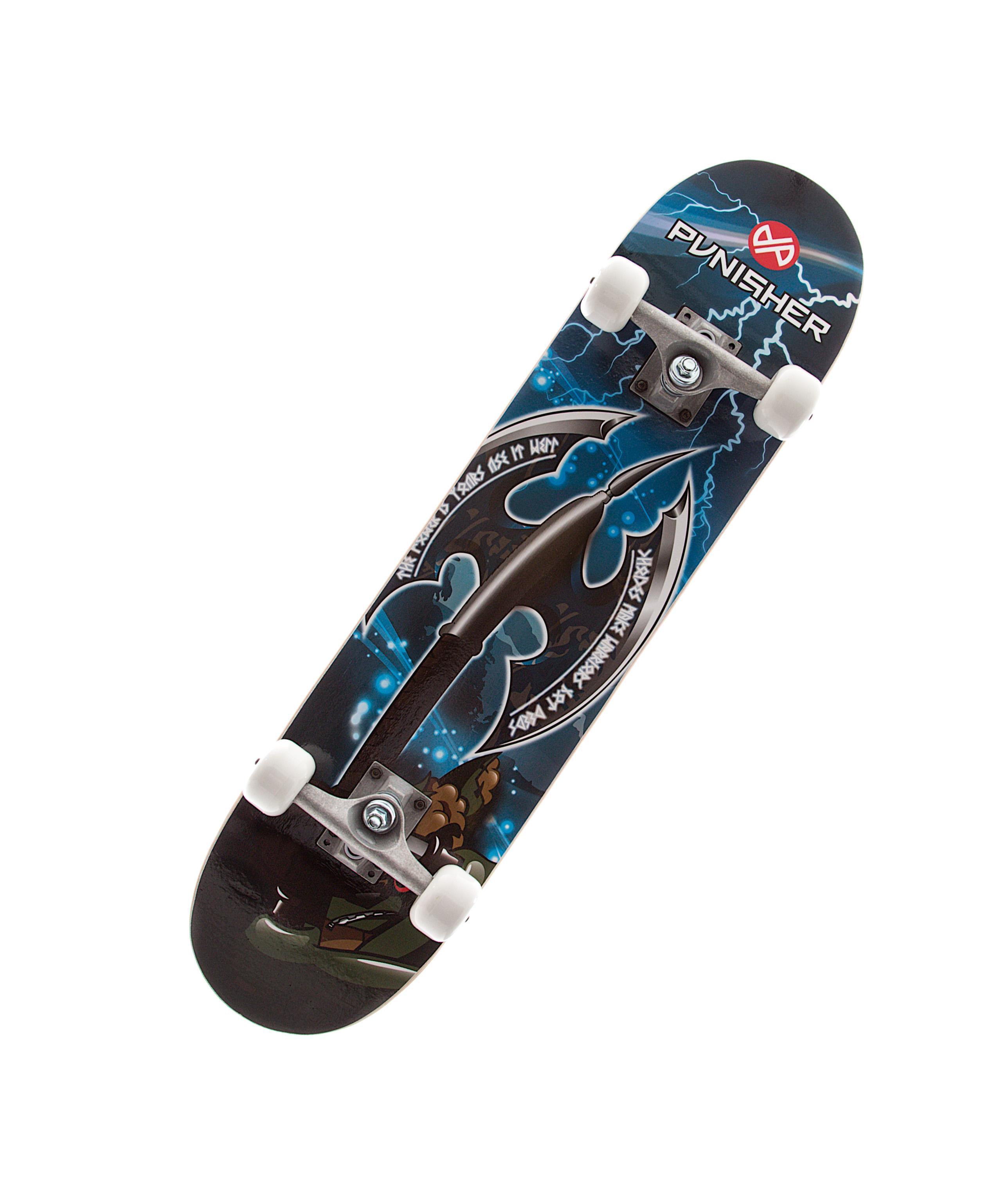Amazon.com : Punisher Skateboards Warrior Complete