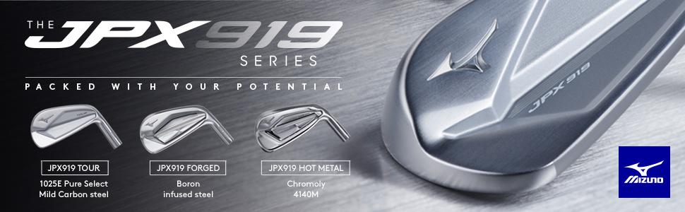 Mizuno JPX919 Golf Iron Set
