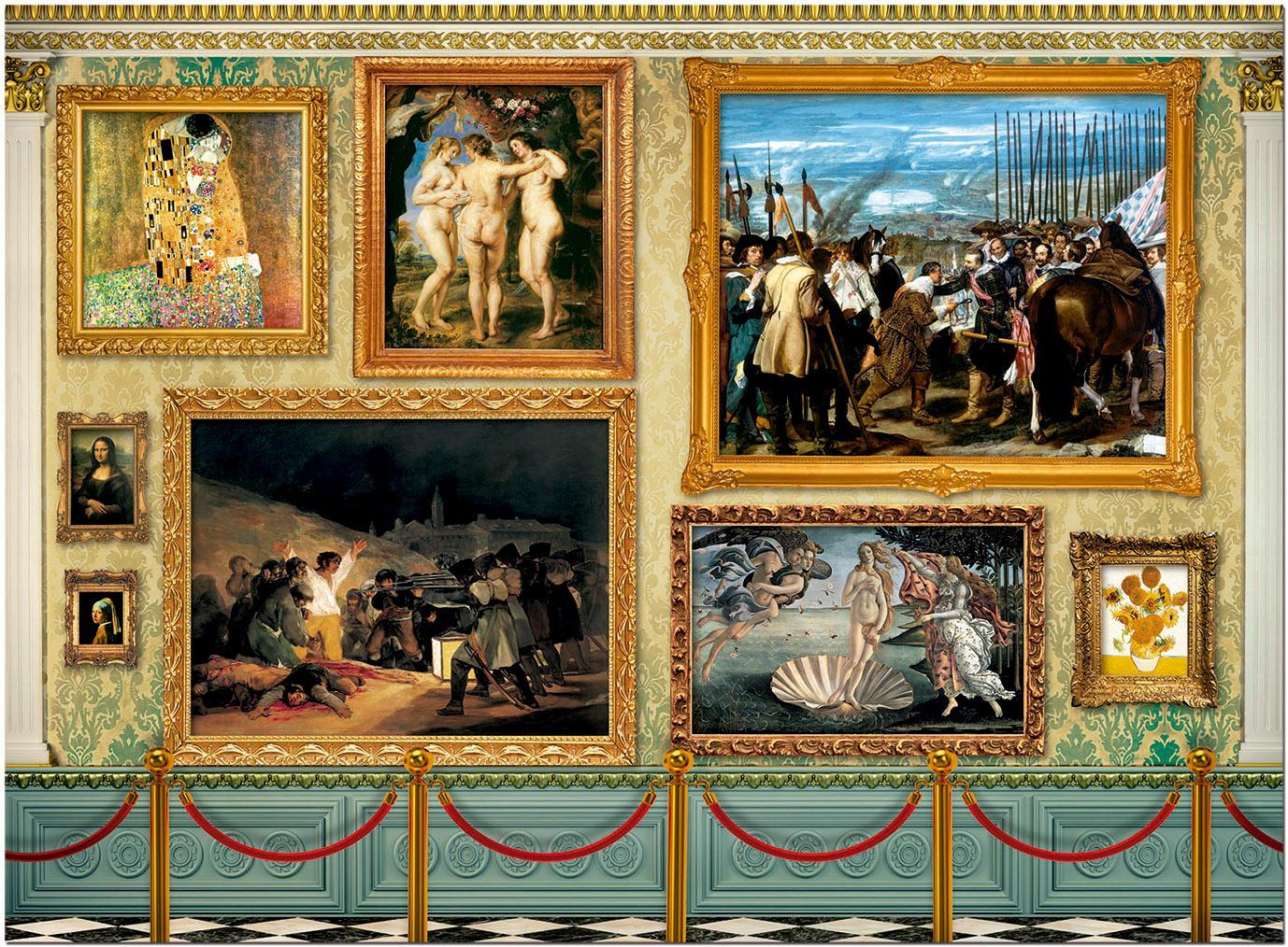 Educa Borrás - Grandes Obras de Arte Puzzle, 12000 piezas (17137): Amazon.es: Juguetes y juegos