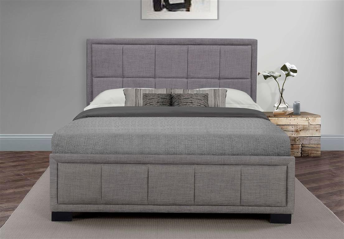 Birlea Hannover Ottoman Bed Velvet Grey Twin Amazon Co