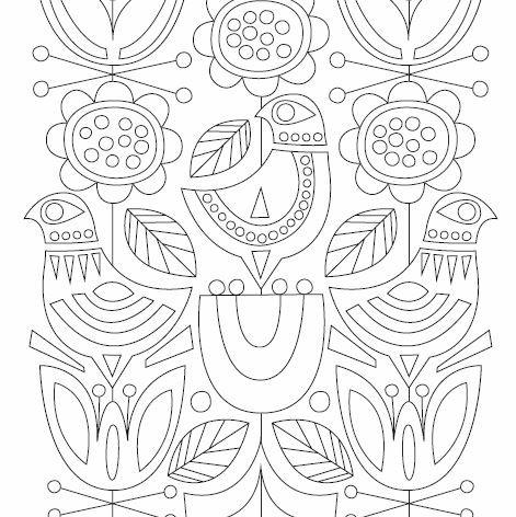 modern art coloring pages | Amazon.com: Just Add Color: Mid-Century Modern Animals: 30 ...