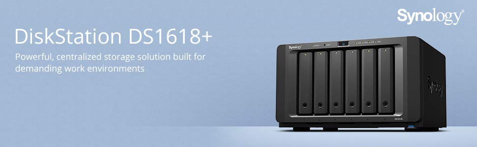 Amazon in: Buy Synology DiskStation DS1618+ 4GB Network