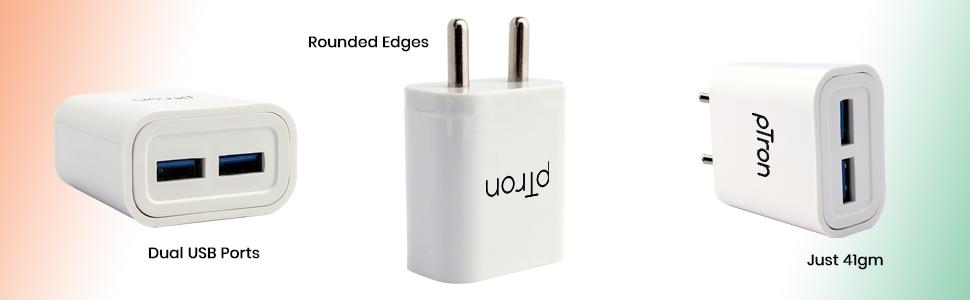 ptron volta evo 2.4A charger
