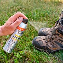 bug repellent gear spray