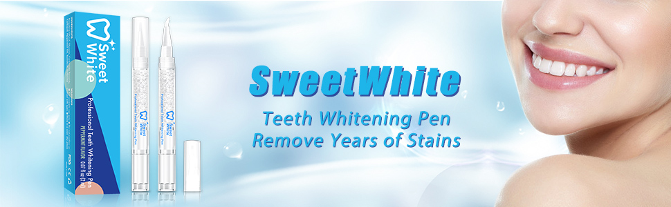 Amazon.com: SweetWhite Teeth Whitening Pen (2 Pack), Professional ...