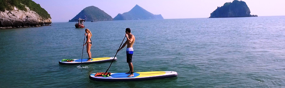 Paddle board, Paddleboard, surf board, Inflatable surf board, Paddle board with seat, Kayak, Yoga