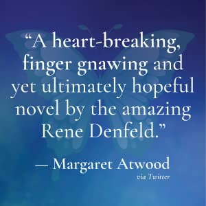 The Butterfly Girl by Rene Denfield quote card Margaret Atwood