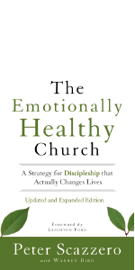 The Emotionally Healthy Leader CD