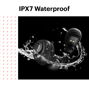 ipx7 waterproof rating, waterproof earbuds
