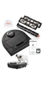 Neato Robotics D450 Edición Mascotas - aspirador robot con estación ...