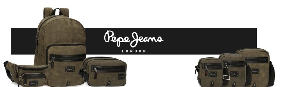 mochilas pepe jeans para hombre bandolera hombre pepe jeans