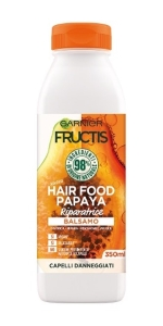 Hair Food, hairfood, macadamia, papaia, aloe, banana, goji, nutriente, nutrizione, capelli secchi