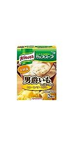 クノール カップスープ 男爵いものポタージュ(3袋入)