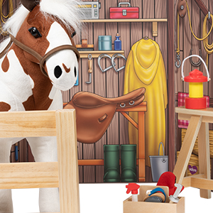 Princess and Horse Play Set ES47 It/'s Girl Stuff! 4 Assorted