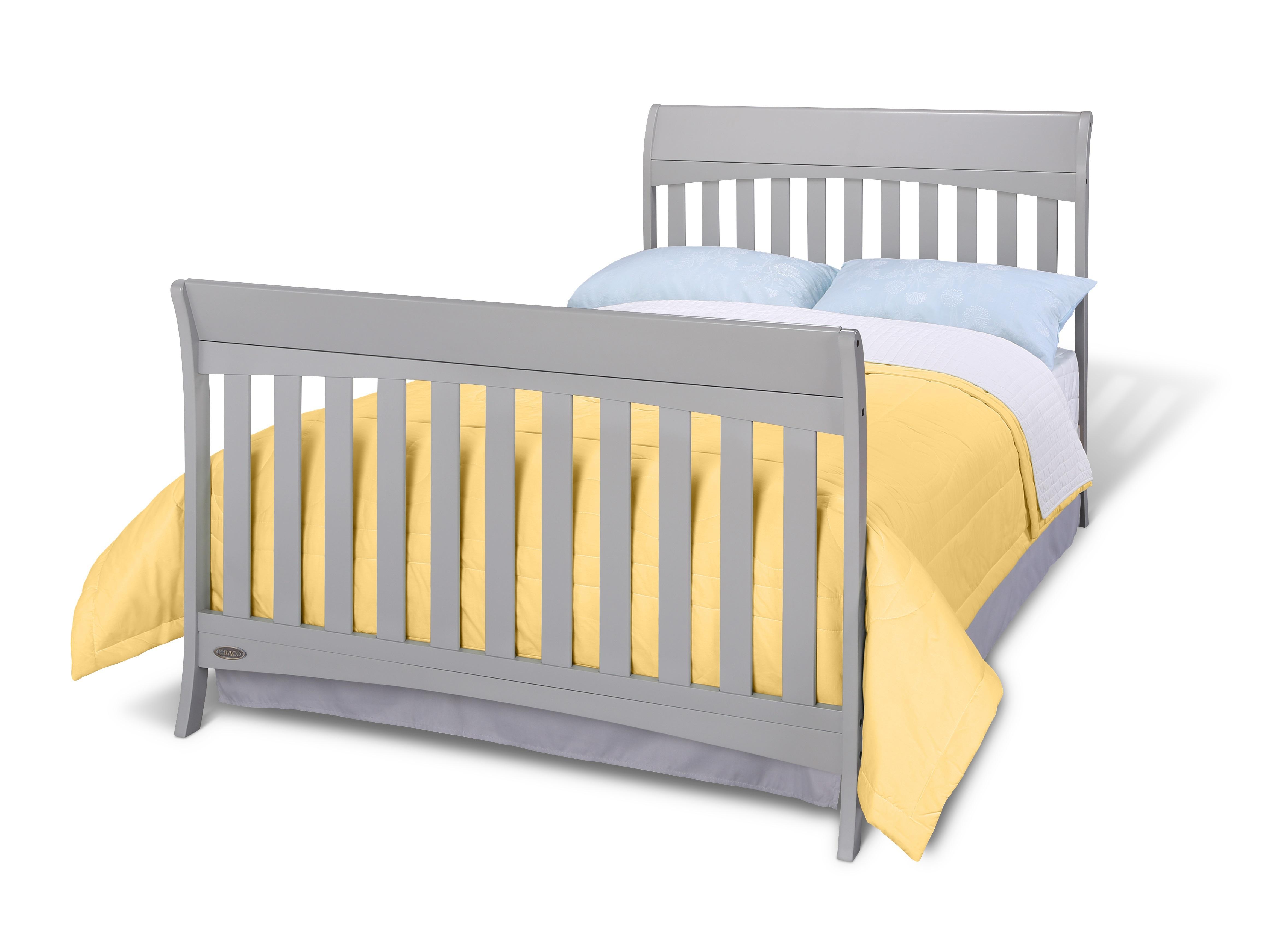 Graco Rory 4 In 1 Convertible Crib Pebble Gray Amazon Ca