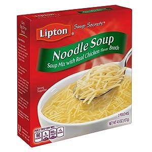 Amazon.com : Lipton Instant Soup Mix, Noodle, 4.5 oz