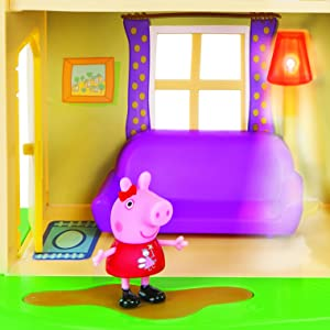 Cool Peppa Pig Lights Sounds Family Home Feature Playset Ocoug Best Dining Table And Chair Ideas Images Ocougorg