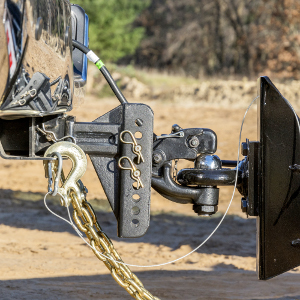 CURT Pintle Hitch Trailer Lunette Ring Pintle Hook