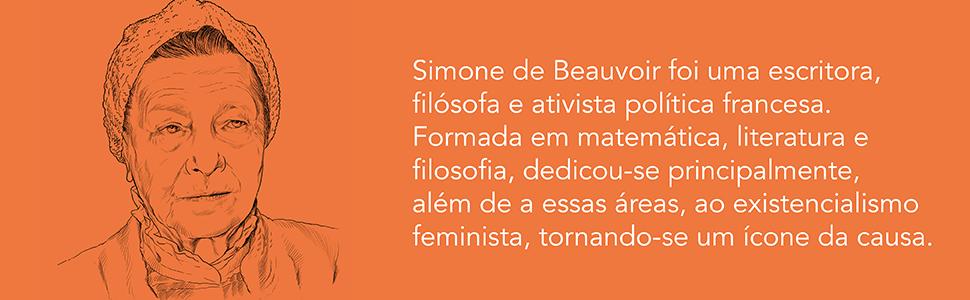 Simone de Beauvoir, escritora, filósofa