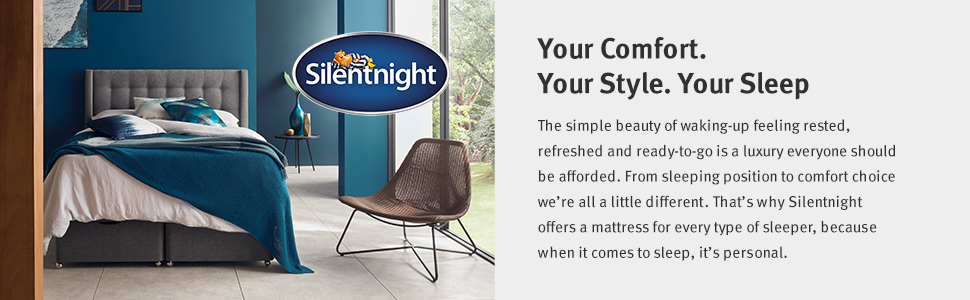 Mirapocket,comfort,style,rest,silentnight,mattresses,sleep,made in the UK,