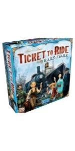 ticket to ride rails and sails board game