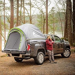 truck tent, tent, camping
