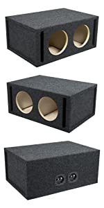 speakers; ported; mobile audio; mobile electronics; car audio; woofers; subs; subbox; subox; coax; b